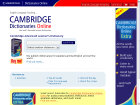 Cambridge International Dictionaries